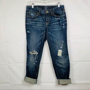 Ann Taylor Loft Boyfriend Jeans Size 25/0